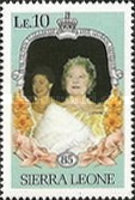[The 85th Anniversary of the Birth of Queen Elizabeth the Queen Mother, 1900-2002, Typ MR]