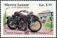[The 100th Anniversary of Motorcycle and Decade for African Transport, Typ MT]