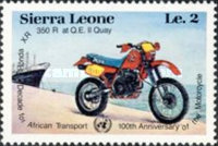 [The 100th Anniversary of Motorcycle and Decade for African Transport, Typ MU]