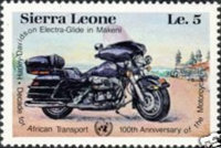 [The 100th Anniversary of Motorcycle and Decade for African Transport, Typ MW]
