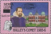 [Appearance of Halley's Comet - Issues of 1986 Overprinted, Typ OH1]