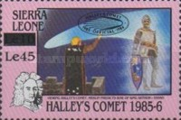 [Appearance of Halley's Comet - Issues of 1986 Overprinted, Typ OK1]
