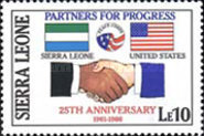 [The 25th Anniversary of United States Peace Corps, Typ PJ]