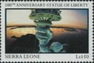 [The 100th Anniversary of Statue of Liberty (1986), Typ QE]