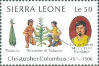 [The 500th Anniversary (1992) of Discovery of America by Columbus, Typ TI]