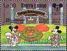 [The 60th Anniversary of Mickey Mouse (Walt Disney Cartoon Character), Typ UM]