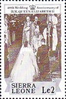 [The 40th Anniversary of the Wedding of Queen Elizabeth II and Prince Philip, Typ UT]
