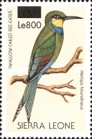 [Birds - Issue of 1988 Surcharged, Typ VQ1]