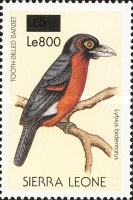 [Birds - Issue of 1988 Surcharged, Typ VR1]
