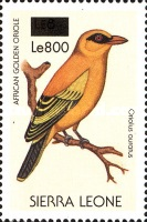 [Birds - Issue of 1988 Surcharged, Typ VS1]