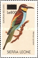 [Birds - Issue of 1988 Surcharged, Typ VV1]
