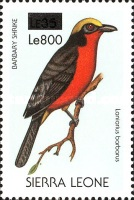 [Birds - Issue of 1988 Surcharged, Typ VW1]
