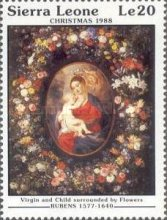 [Christmas - Religious Paintings by Peter Paul Rubens, type XN]