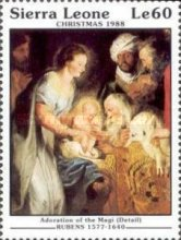 [Christmas - Religious Paintings by Peter Paul Rubens, type XP]