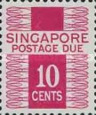 [Postage Due Stamps - Different Perforation, Typ A8]