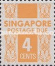 [Postage Due Stamps, Typ B6]