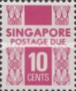 [Postage Due Stamps, Typ B7]