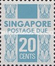 [Postage Due Stamps, Typ B8]