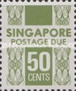 [Postage Due Stamps, Typ B9]