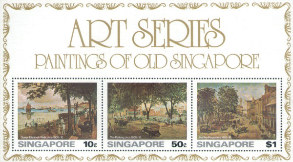 [Paintings of Old Singapore from the National Museum, Typ ]
