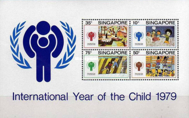 [International Year of the Child - Children's Drawings, Typ ]