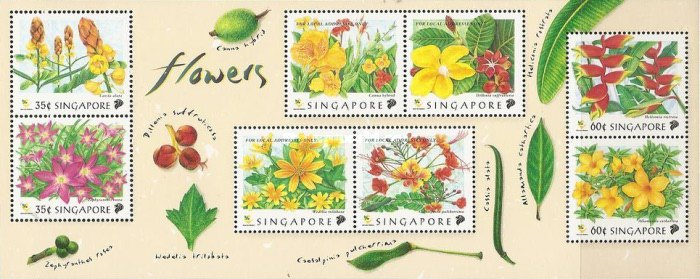 [Flowers of the Garden Parks of Singapore, Typ ]