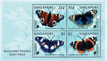 [Butterflies - Joint Issue with Sweden, type ]
