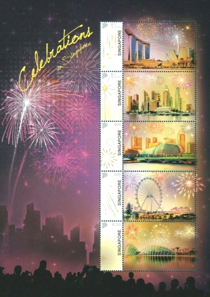 [Celebrations in Singapore - Personalized Stamps, type ]