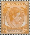 [King George VI - Different Perforation, type A21]