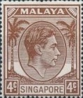[King George VI - Different Perforation, type A22]