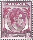 [King George VI - Different Perforation, type A24]