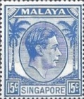 [King George VI - Different Perforation, type A25]