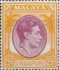 [King George VI - Different Perforation, type A27]