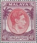 [King George VI - Different Perforation, type A28]