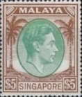 [King George VI - Different Perforation, type A32]