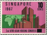 [The 2nd Afro-Asian Housing Congress, type AX]