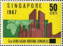 [The 2nd Afro-Asian Housing Congress, type AX2]