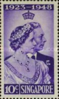 [The 25th Anniversary of the Wedding of King George VI and Queen Elizabeth, type B]