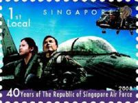 [The 40th Anniversary of the RSAF - Republic of Singapore Air Force, Typ BED]