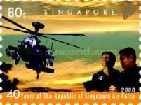 [The 40th Anniversary of the RSAF - Republic of Singapore Air Force, Typ BEG]