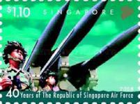 [The 40th Anniversary of the RSAF - Republic of Singapore Air Force, Typ BEH]