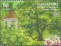 [The 150th Anniversary of the Botanic Gardens, Typ BFT]