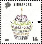 [Greetings Stamps - Let's Celebrate, Typ BQW]