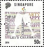 [Greetings Stamps - Let's Celebrate, Typ BQZ]