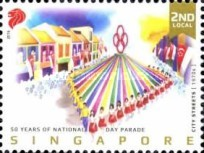 [The 50th Anniversary of the National Day Parade, Typ BWH]