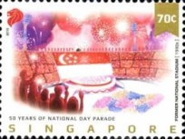 [The 50th Anniversary of the National Day Parade, Typ BWJ]