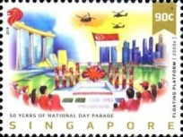 [The 50th Anniversary of the National Day Parade, Typ BWK]