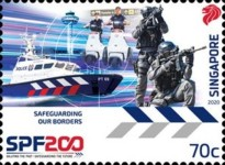 [The 200th Anniversary of the Singapore Police Force, Typ CDW]