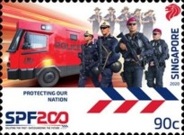[The 200th Anniversary of the Singapore Police Force, type CDX]
