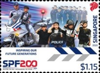 [The 200th Anniversary of the Singapore Police Force, type CDY]